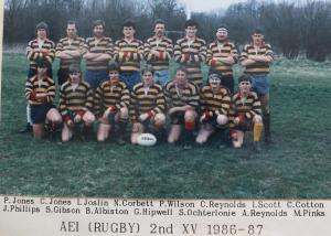 19860901 1986-87 Team photo