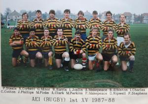 19870901 1987-88 Team Photo